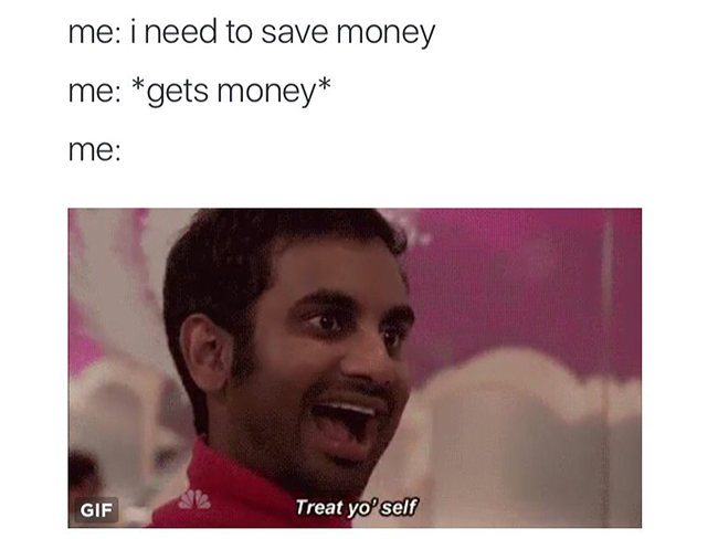 13 memes that will speak to you if you're crap with money