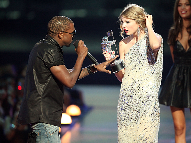 "Kanye West's ""Famous"" video receives two MTV VMA nominations and Taylor Swift gets zero"