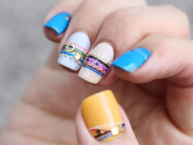 These gorgeous 'bracelet nails' are what your fingers dream about