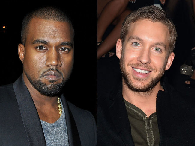 Kanye West and Calvin Harris might make music together because of course