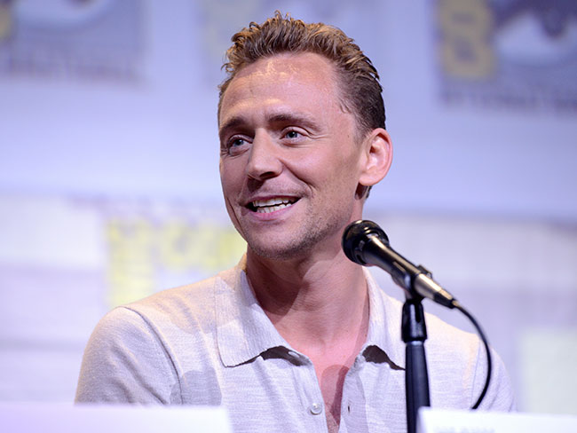 Tom Hiddleston's just won an award for his butt and yup, we can see why