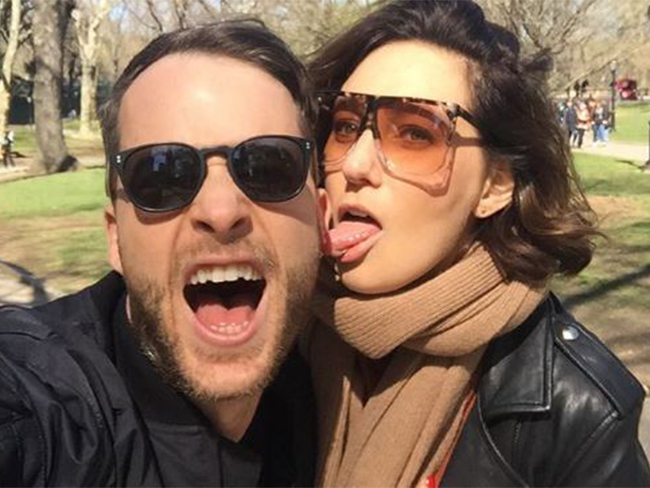 Hamish Blake's birthday message for Zoe Foster Blake will melt your cold dead heart