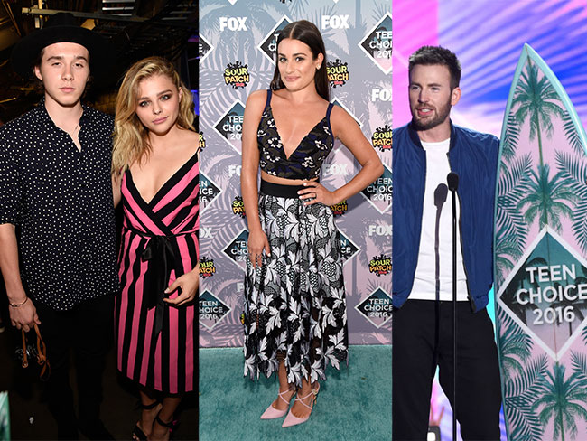 18 must-see looks from the Teen Choice Awards red carpet