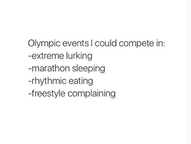All the times the Olympics got real AF for us mere mortals