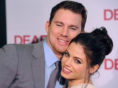 Jenna Dewan has shared a #TBT of her and Channing Tatum from the Step Up days