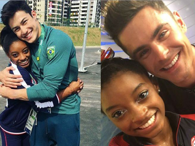 26 important photos of Simone Biles's boyfriends