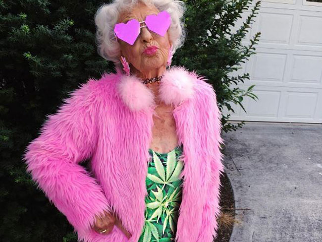 Fact: This 88-year-old nanna is cooler and more Insta-famous than all of us