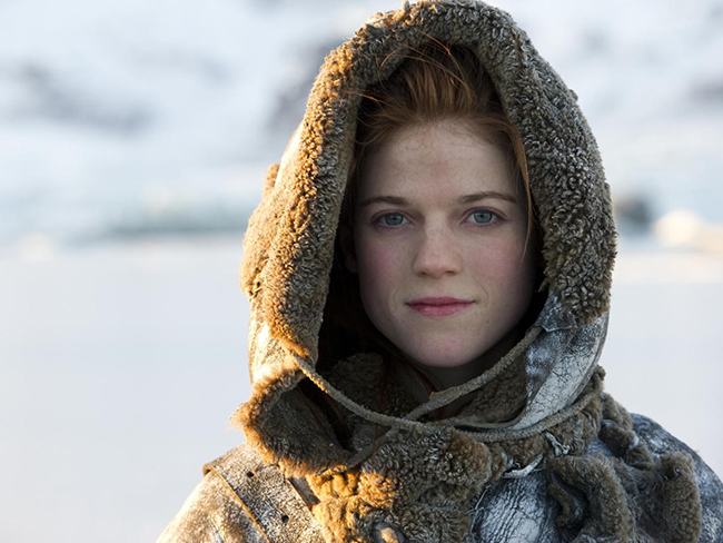 People can't get over how posh Rose Leslie's real accent is