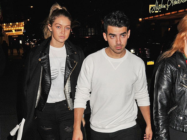 Joe Jonas is being shady AF about songs he wrote about Gigi Hadid