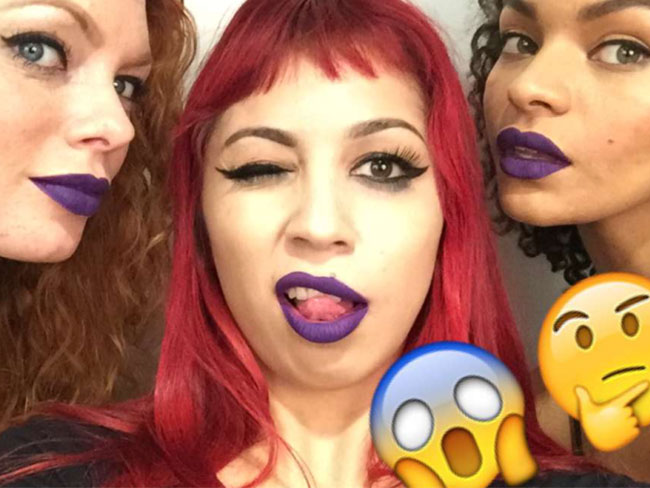 Kat Von D just previewed new shades of lipstick on Snapchat and you have to see them