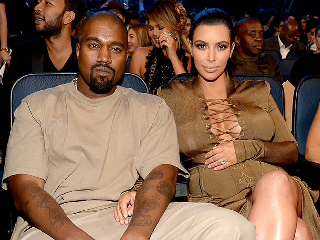 Kim Kardashian and Kanye West are doing their best to own the VMAs