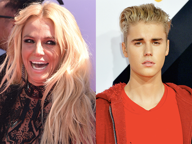 Britney Spears just threw a genius level of shade at Justin Bieber