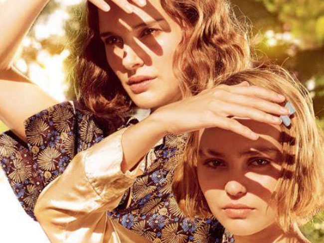 Watch: Lily-Rose Depp and Natalie Portman's new French movie trailer just dropped