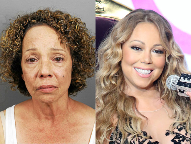 Mariah Carey's sister, Alison, has been arrested and charged with prostitution