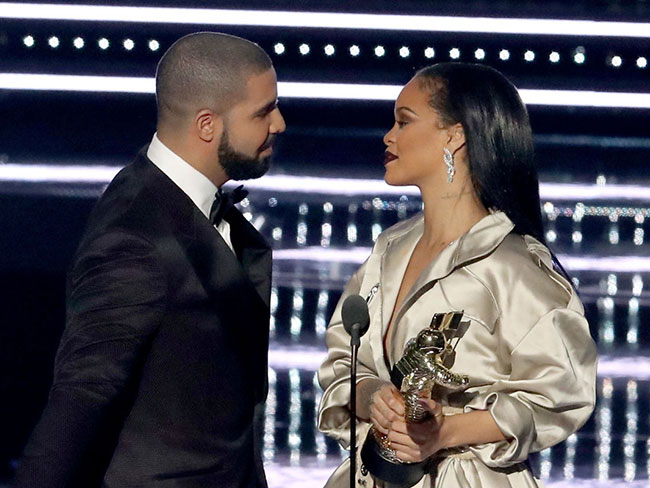 Drake and RiRi went dancing together after the VMAs