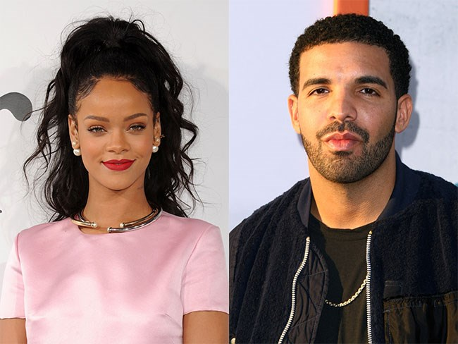 Drake and RiRi spotted on a dinner date