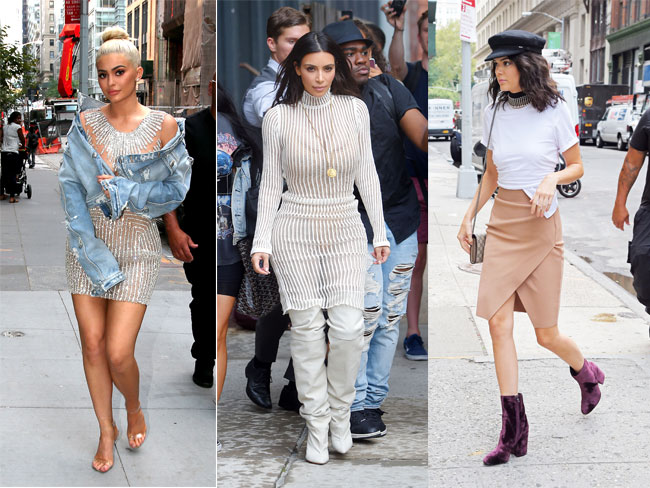 All the Kardashian-Jenner looks from NYFW