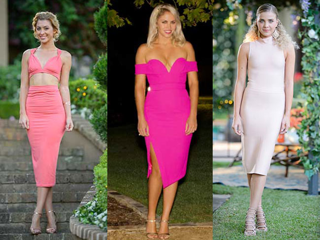 All the outfits Nikki, Alex and Olena have worn on The Bachelor