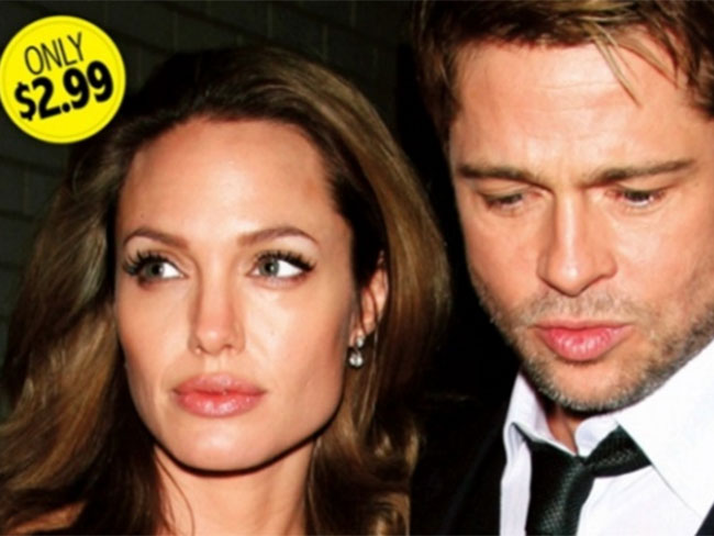 22 times Brad Pitt and Angelina Jolie dramatically starred on tabloid covers
