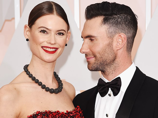 Adam Levine and Behati Prinsloo share first photo of daughter Dusty Rose