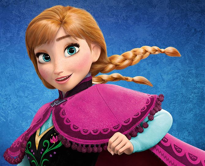 **Anna (*Frozen*)**: Woah, you're a reckless ball of energy! Happy-go-lucky and optimistic, you do things without thinking at times (whoops!) and have unlimited faith in others. Which makes you an amazing friend and heaps of fun too. What a go-getter!