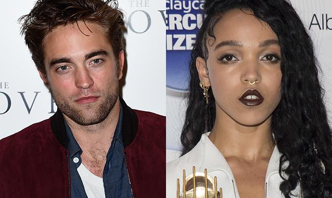 """Robert Pattinson is """"the man I love,"""" says FKA twigs…"""