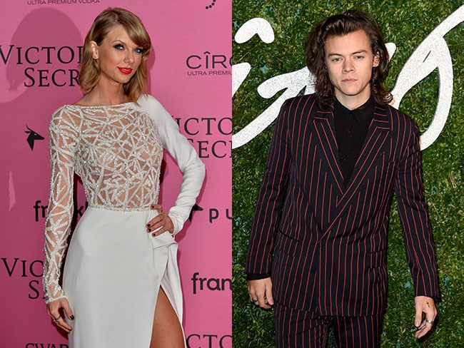Taylor Swift and Harry Styles together at Victoria's Secret Fashion Show after party?!