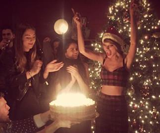 Taylor Swift celebrates 25th birthday…