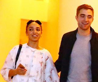 FKA Twigs meets Robert Pattinson's parents