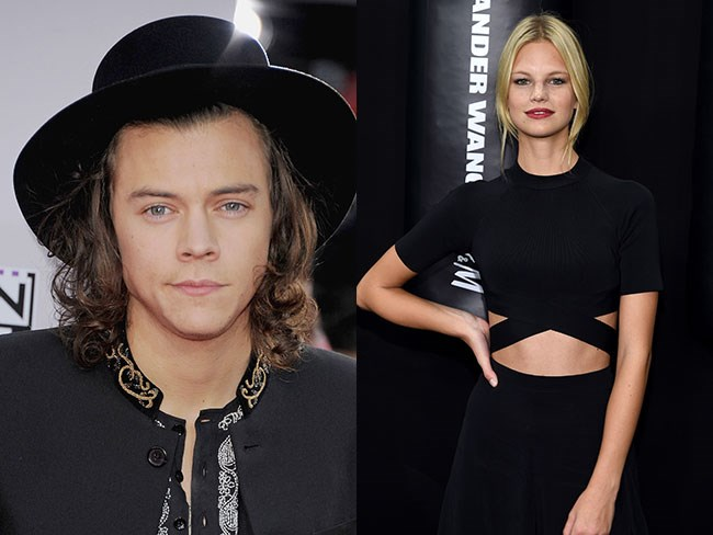 Harry Styles is dating Victoria's Secret Model Nadine Leopold
