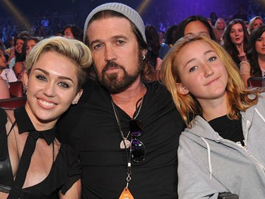 Miley Cyrus dishes out fashion advice to her sister