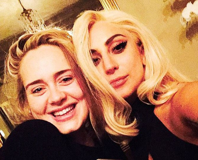 Just yesterday, the soulful Adele and the ever-quirky Lady Gaga teamed up! While they both boast a HUGE array of artists they've collaborated with, we're not sure if this is just an Instagram post... or a hint of their future musical partnership plans. This is seriously one pair we never thought would come together!