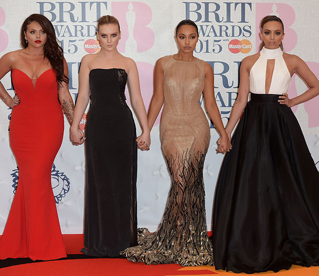 Best dressed at the BRITs
