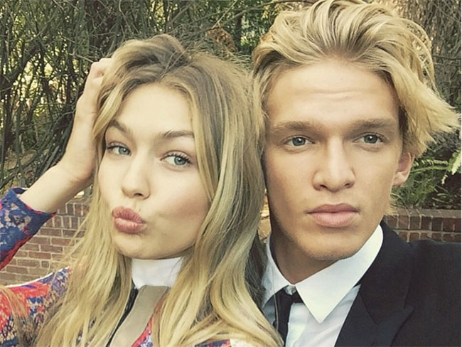 Cody Simpson and Gigi Hadid's most adorable Instagram photos