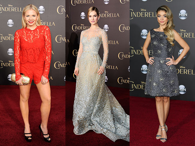 Best dressed stars from the Cinderella premiere