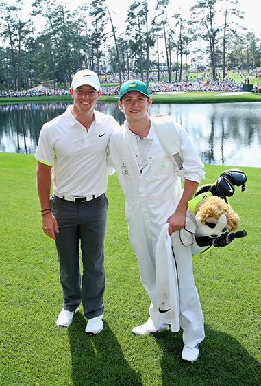 You'd think Niall wouldn't get starstruck being in the biggest boy band in the world, but even he's fangirling over pro golfer Rory. Next on our to-do list: learn golf.