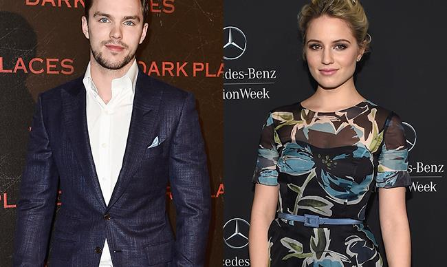 Are Nicholas Hoult and Dianna Agron dating?