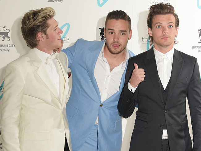 The boys from 1D suit up for The Great Gatsby Ball