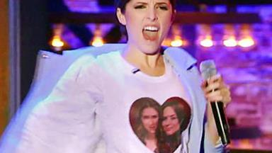 Anna Kendrick lip syncs to 1D