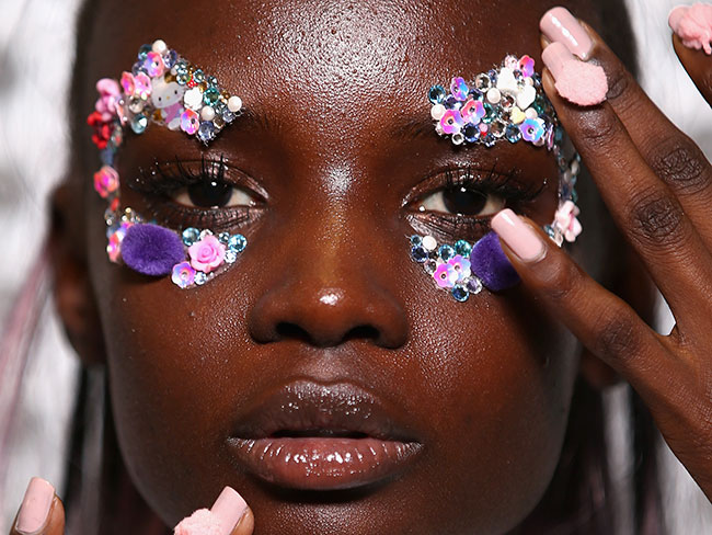 7 zany beauty looks from MBFWA