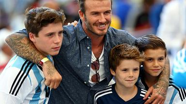 David Beckham majorly embarrasses Brooklyn Beckham on Instagram