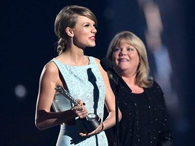 Taylor Swift's mum gives heartwarming speech at the ACM Milestone Awards