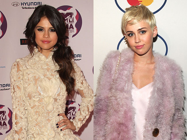 Miley Cyrus and Selena Gomez are back on the market
