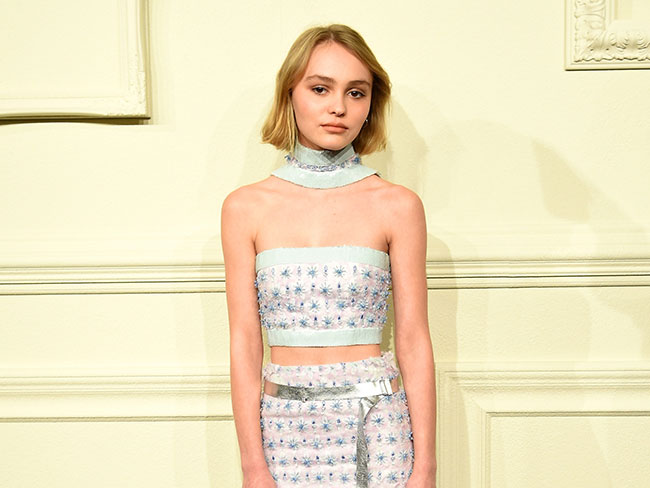Lily-Rose Depp is soon to be the next 'it' model
