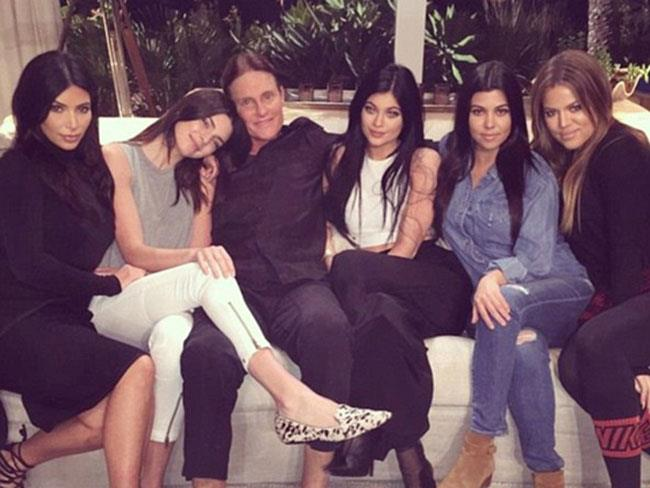 Kylie and Kendall Jenner show support for Bruce Jenner's gender transition
