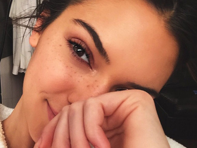 Kendall Jenner's new beauty look