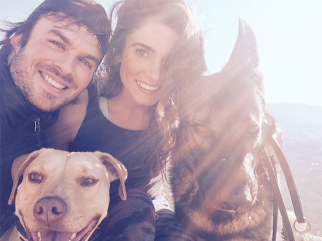 Ian Somerhalder and Nikki Reed got hitched!