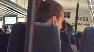Harry Styles on the bus = the best