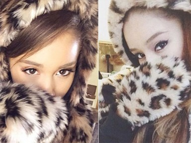 Ariana Grande's got herself an Instagram doppelganger!