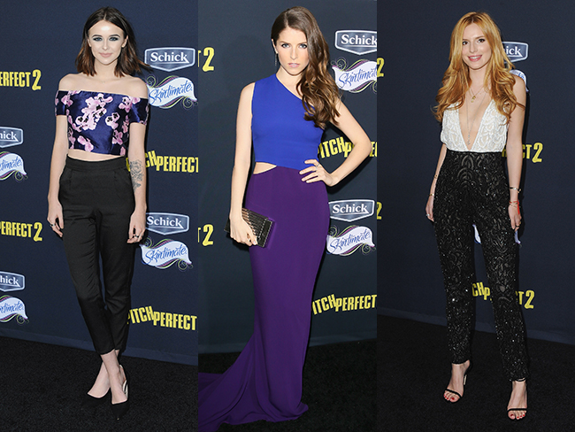 Pitch Perfect 2 premiere best dressed